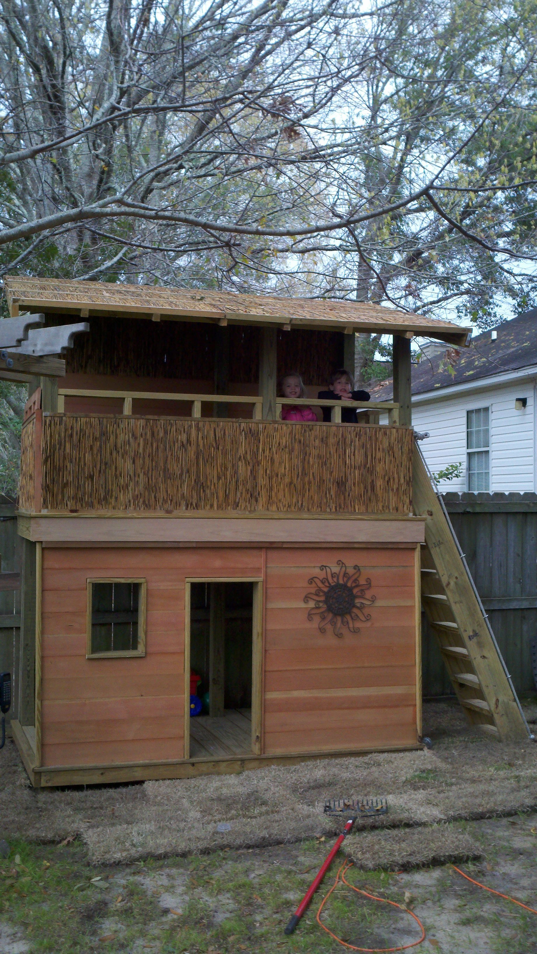 custom clubhouse | Backyard Escapes | Pinterest | Clubhouses ...