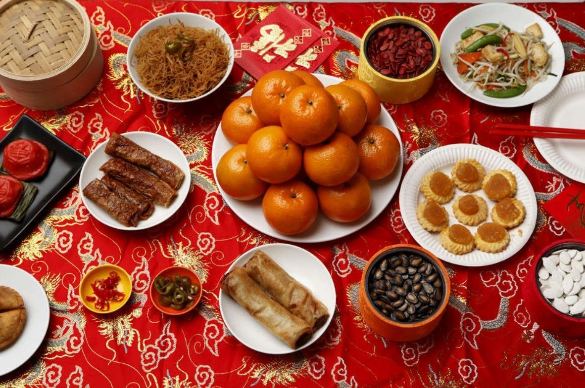 Chinese New Year Food Chinese New Year in 2020 Chinese