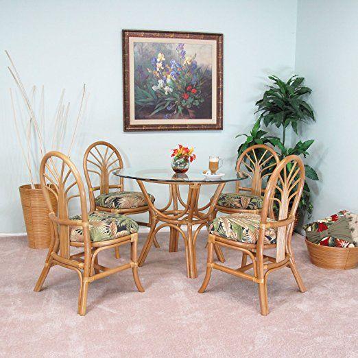 Premium Rattan Dining Furniture Sundance 5pc Set Tommy Bahama