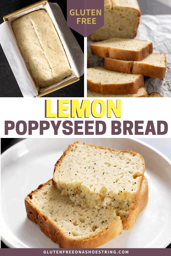 Gluten Free Lemon Poppyseed Bread For Any Season Of The Year In 2020 Lemon Poppyseed Bread Gluten Free Easter Recipes Dessert Recipes Easy