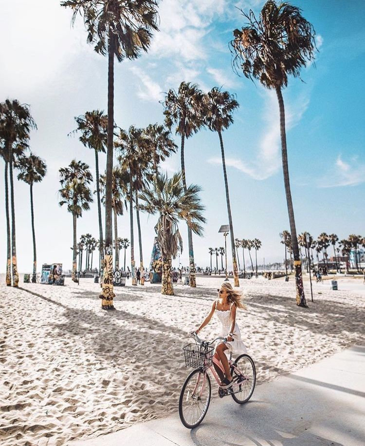 Bike Ride In Venice Beach California California Pictures California Travel Los Angeles Travel