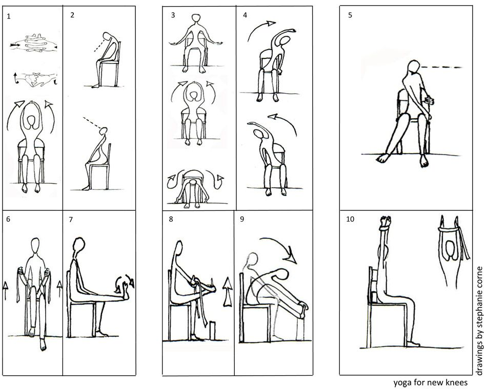 It's just a photo of Impeccable Printable Chair Yoga Routines
