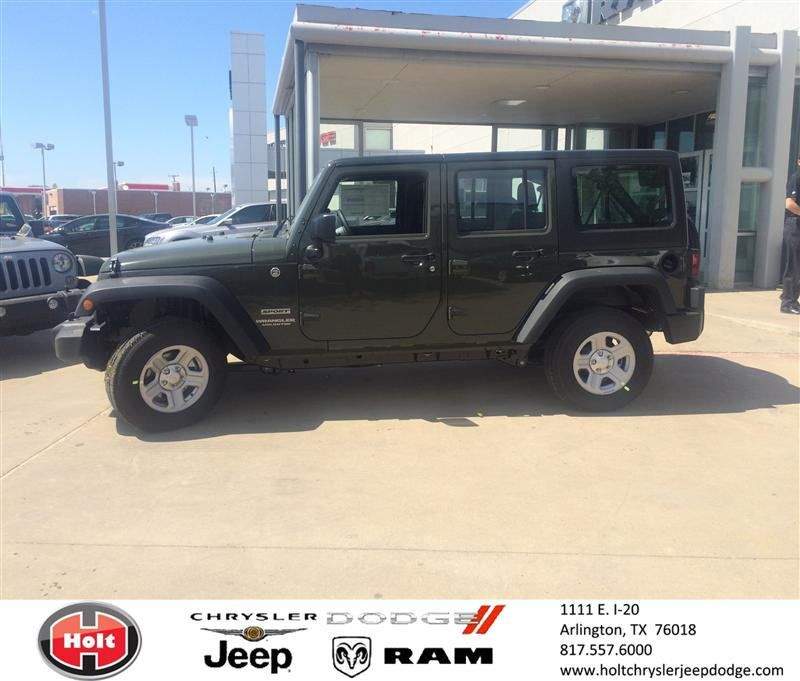 Congratulations To Tommy Bohannon On Your Jeep Wrangler
