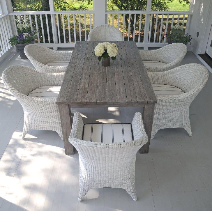 Kingsley Bate Valhalla Collection reclaimed teak table  : e3b4e4a8389a64356ece65a4d2fd393b from www.pinterest.com size 728 x 725 jpeg 122kB