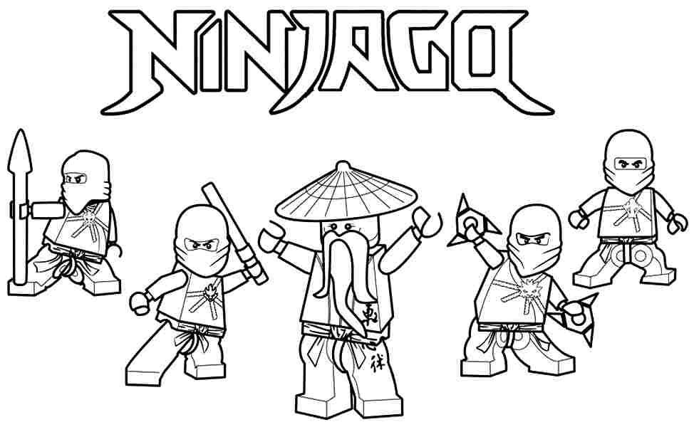 Resultado De Imagem Para Lego Ninjago Para Colorir