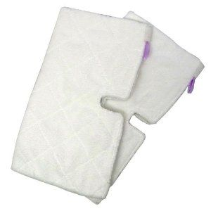 Replacement Rectangle Cleaning Pads 2 Pack For Euro Pro