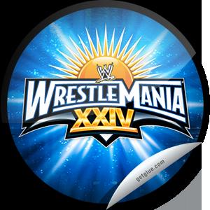 Wrestlemania Logo Series Wrestlemania Xxiv Wrestlemania Logo Wwe Ppv Wrestlemania