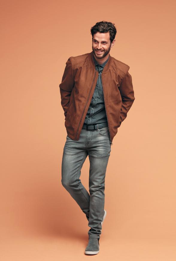 veste en jean homme kiabi les vestes la mode sont. Black Bedroom Furniture Sets. Home Design Ideas