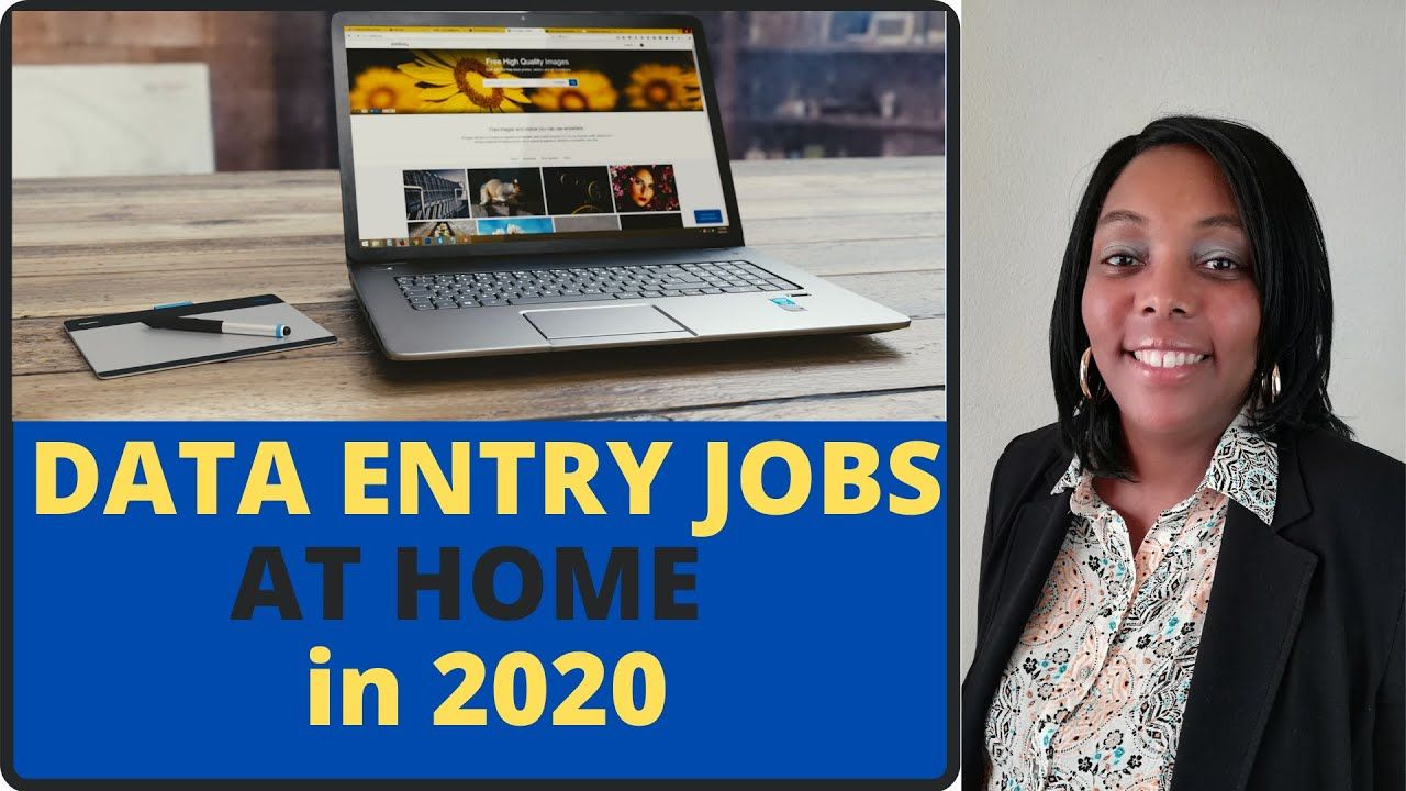 Legit Data Entry Jobs From Home! Work At Home 2020! in