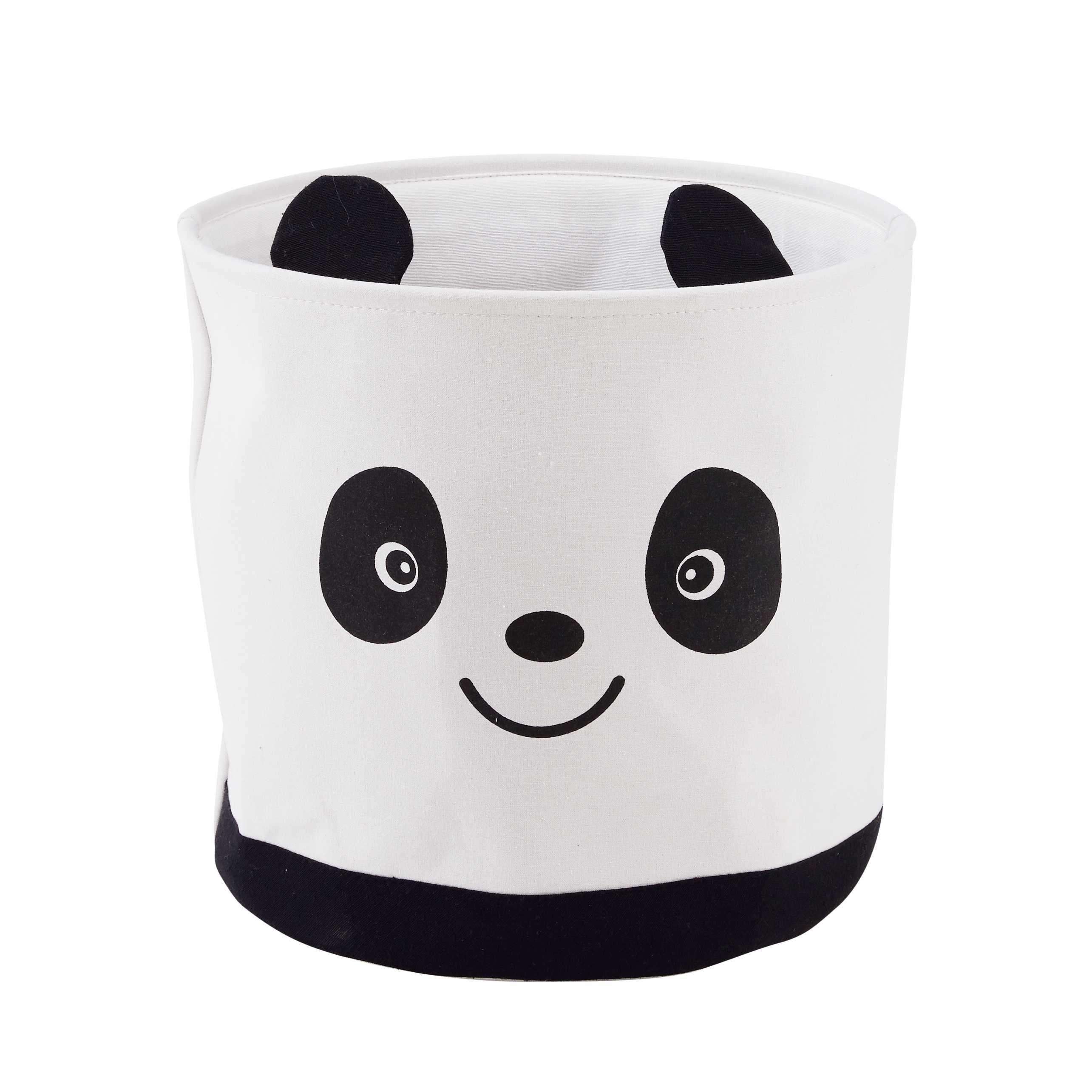 panier de rangement panda en tissu rh pinterest com