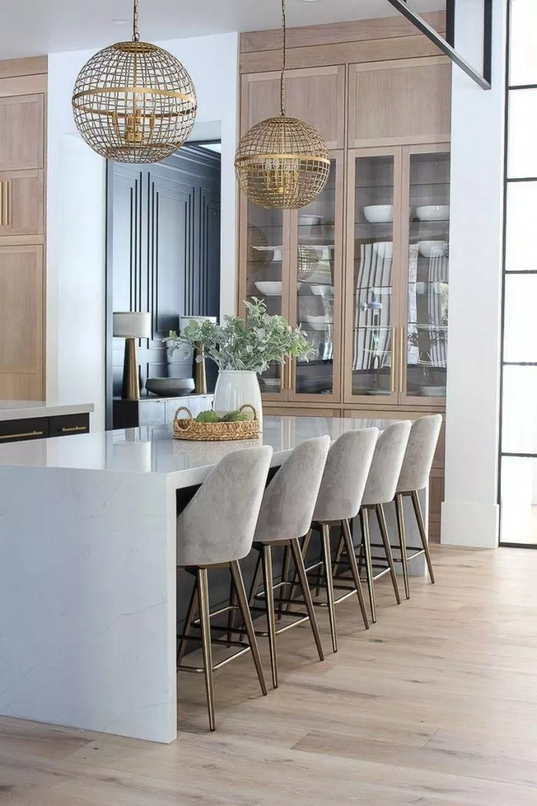 ✓18 modern kitchen ideas for your inspiration 18  Cuisine