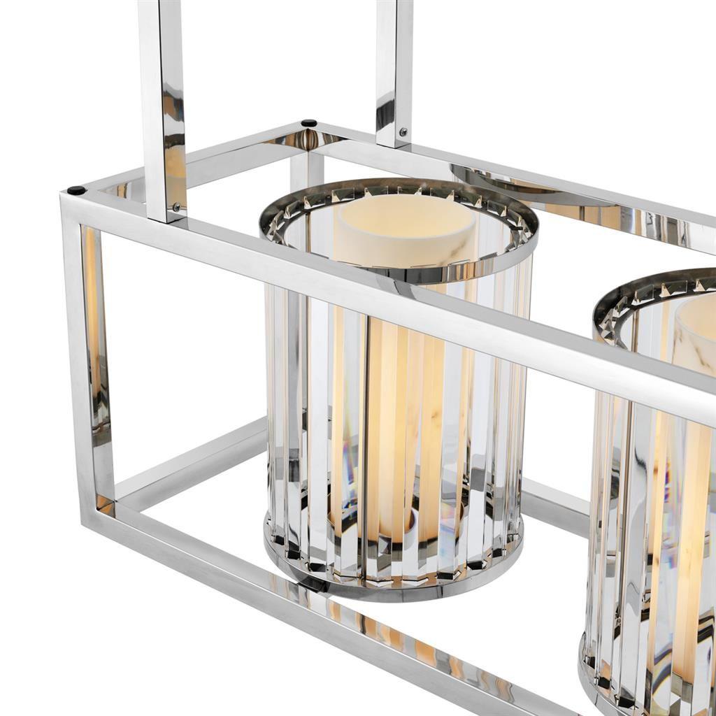 Eichholtz Leuchte Carducci Edelstahlrohr Lampen Stehlampe