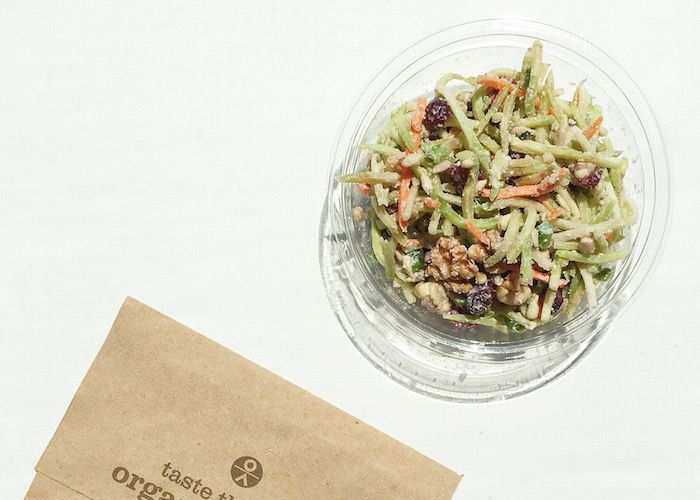 A healthy slaw recipe to make as a barbecue side, or to dress up your lunch