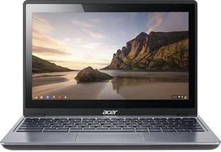 "Acer C720P-2834 - 11.6"" Touchscreen Chromebook - Granite Gray"