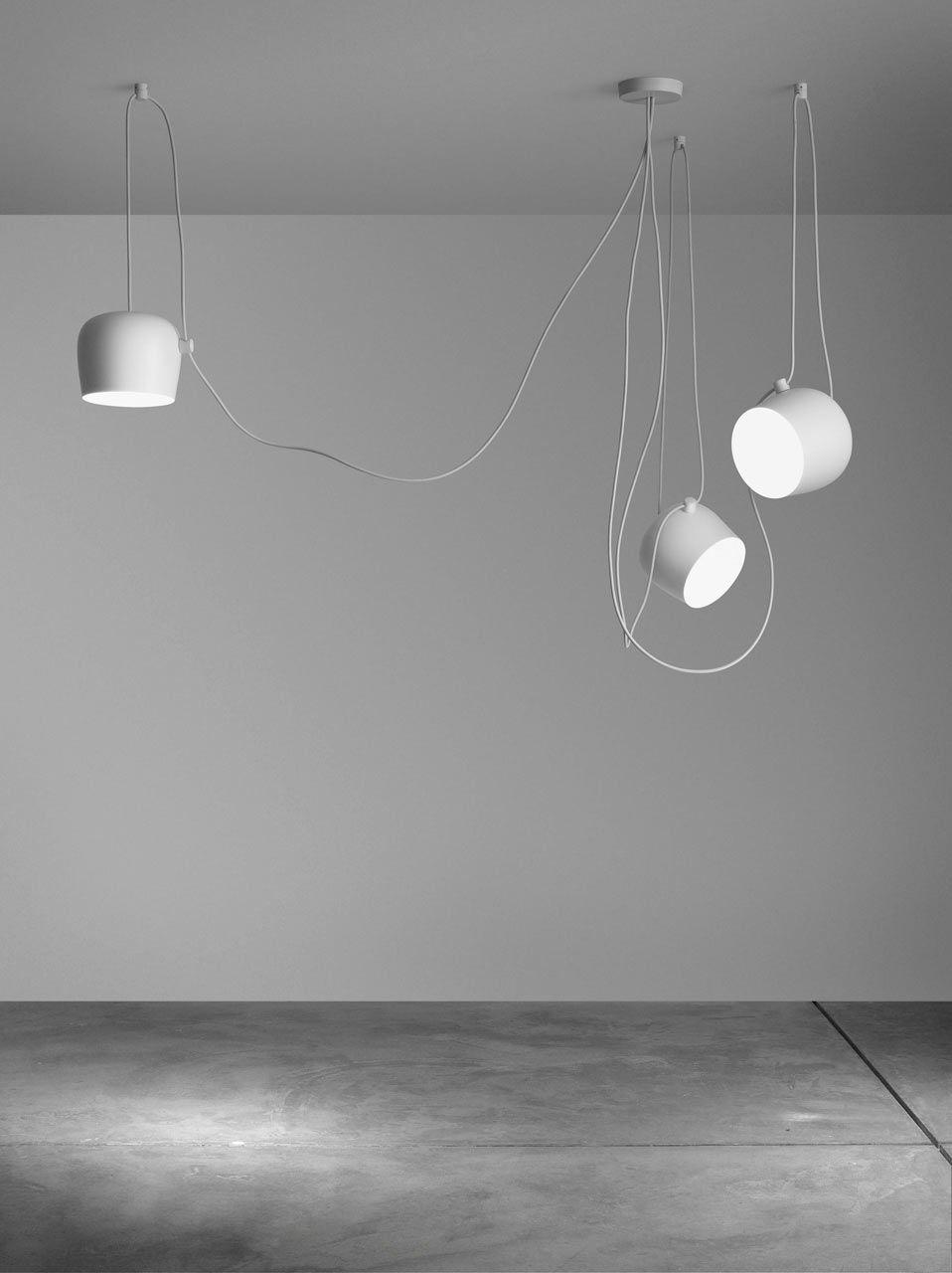 Flos Aim Bouroullec 2 White Design Milk Flos Aim Pendant Light Flos Aim Pendant Lamp Design