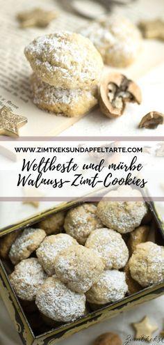 Zimt-Walnuss-Cookies - Zimtkeks und Apfeltarte