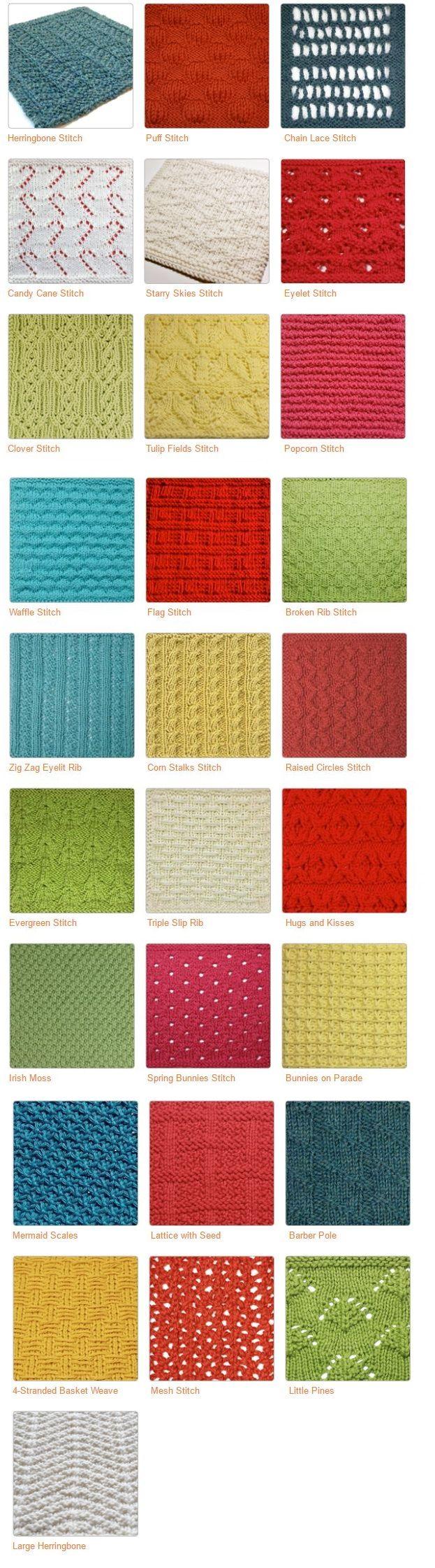 Loom Knit Stitches Loom Knitting Pinterest Loom Knitting