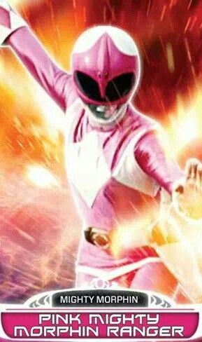 Pink Mighty Morphin Power Ranger