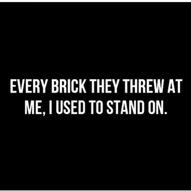Best 25+ Brick Quotes Ideas On Pinterest