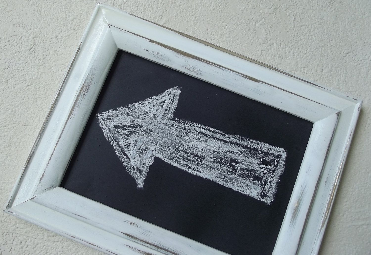 Chalkboard with frame Framed Chalkboard Small White - Hanging ...