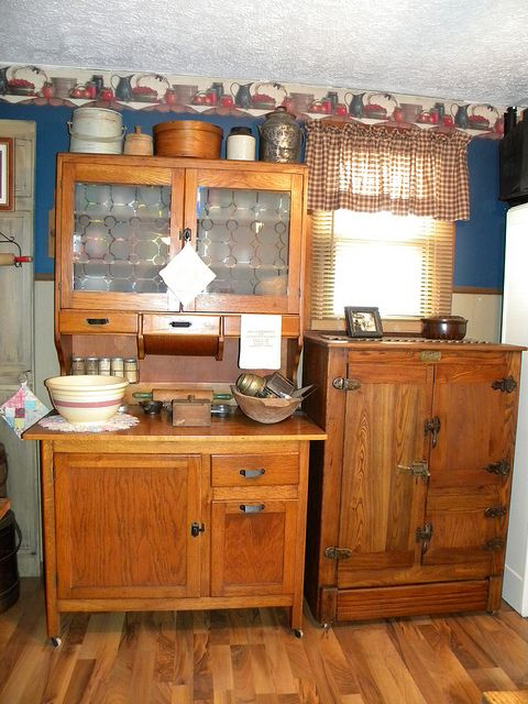1905 Ideal Cabinet Company Vincennes Ice Chest In 2019 Hoosier