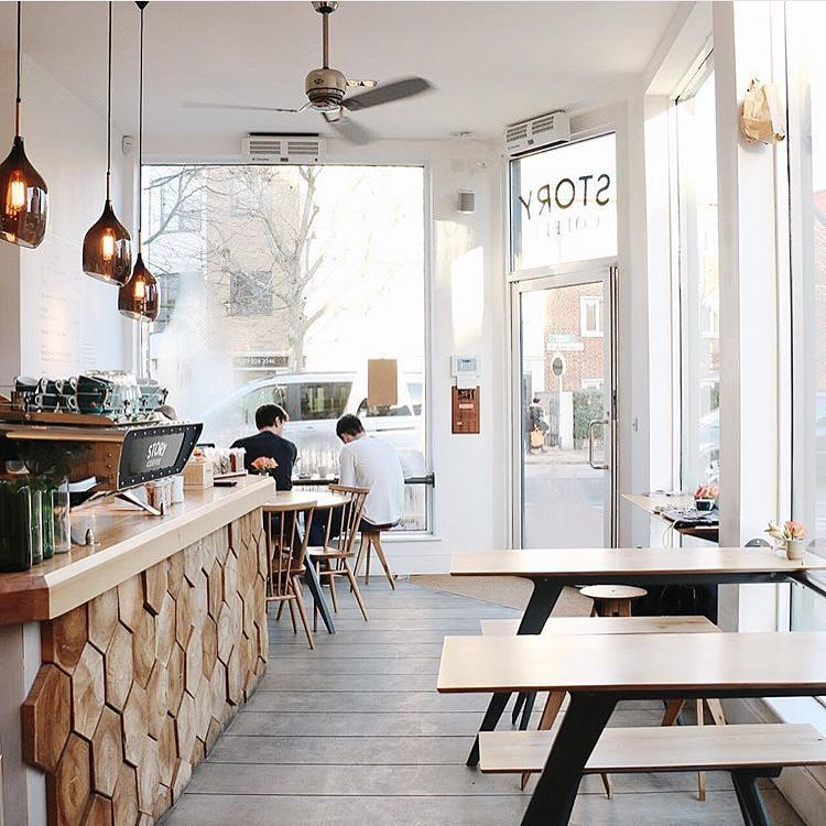 Home Decor Shop Design Ideas: Coffeeshop Goals. Story Coffee, St John's Hill, London