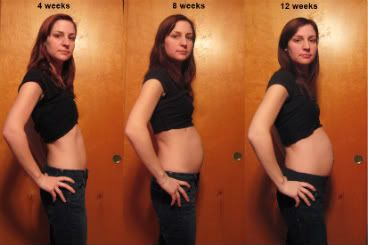 This Seems Like A Good Comparison Photo From And 12 Weeks Pregnant As Far How Annas Bump Looks While Shes