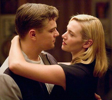 Leonardo Dicaprio and Kate Winslet R.R.