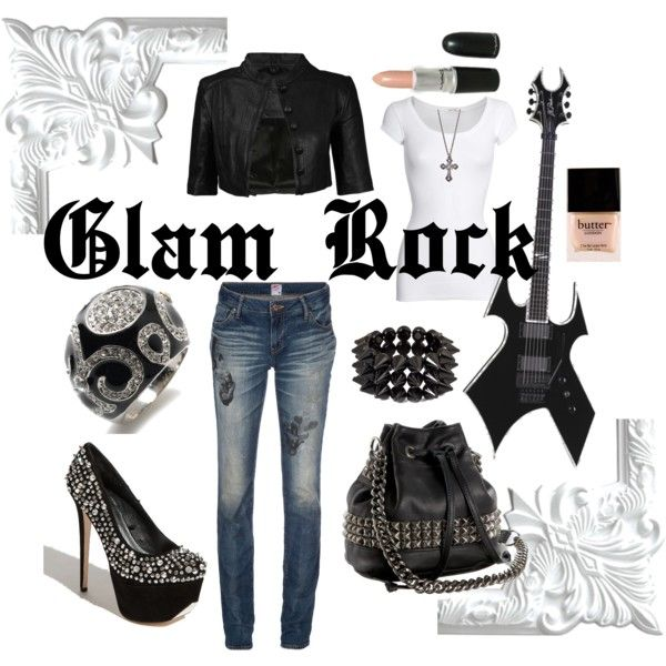 Glam Rock Clothes Such Pinterest Rock Clothes And