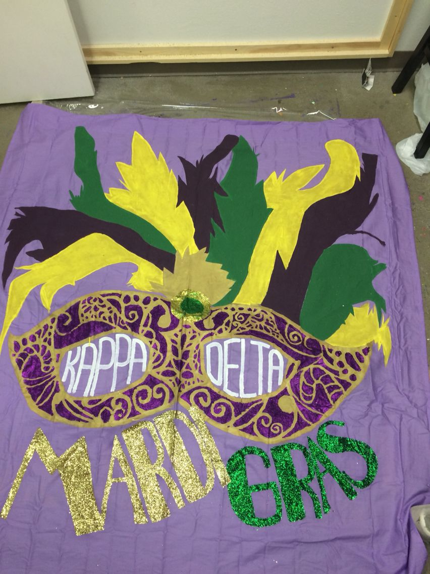Another gorgeous mardi gras creation using our new mardi gras kit the final product mardi gras theme date party banner by kari slocum amipublicfo Images