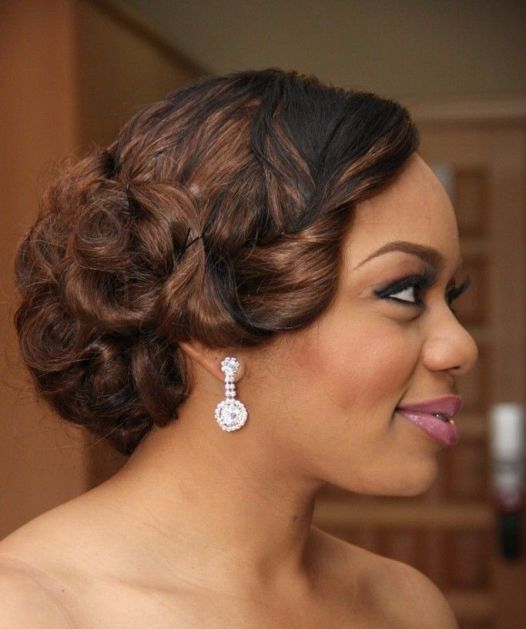 20 Gorgeous Black Wedding Hairstyles