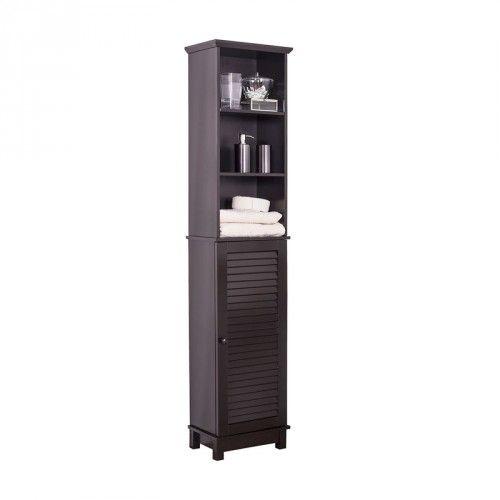 Hanna Tall Cabinet Espresso Bathroom Furniture Jysk Canada