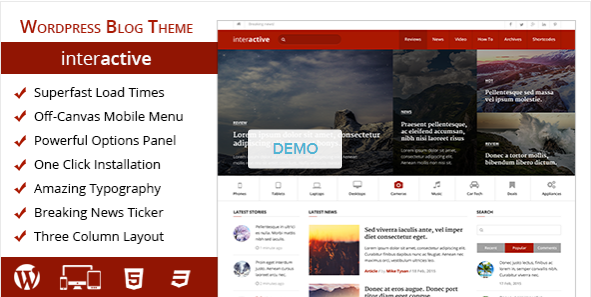 Hi, Are you looking for an awesome blog theme for your amazing ...