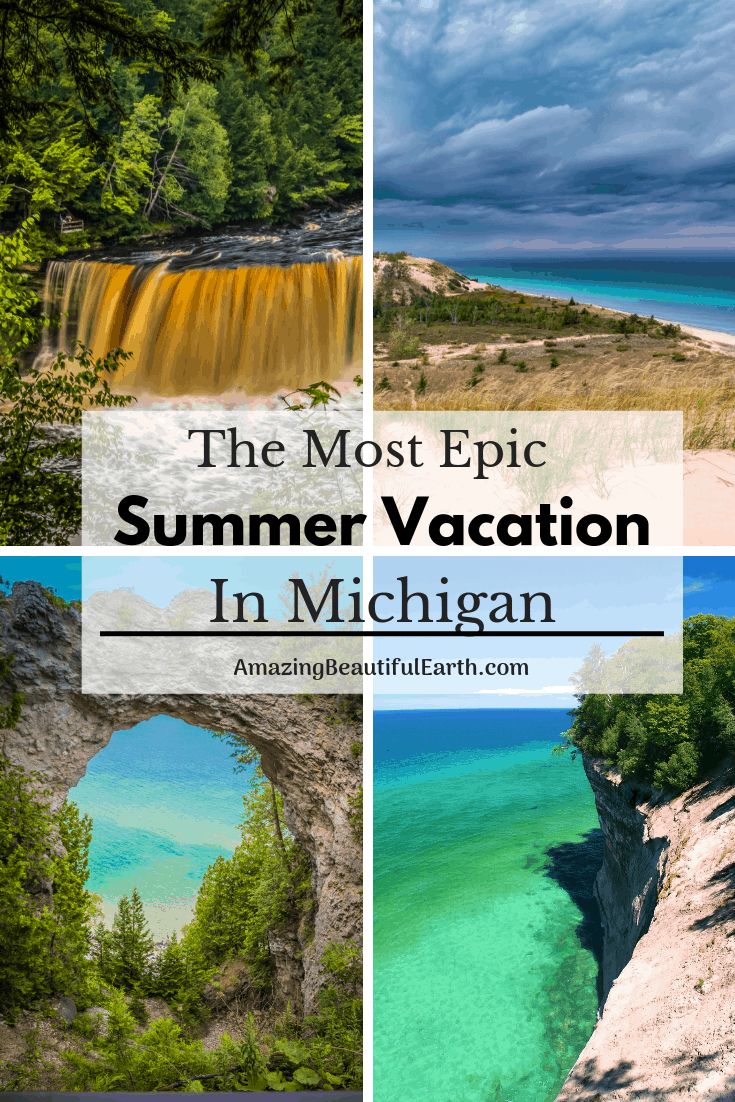 Photo of The Most Epic Summer Vacation In Michigan – The Amazing Beautiful Earth