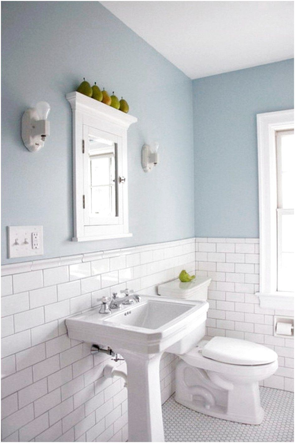 Bathroom Best Ways In How To Tile A Bathroom Floor For Luxurious Look White Subyway Color Comb Light Blue Bathroom Bathroom Wall Tile White Subway Tile Shower