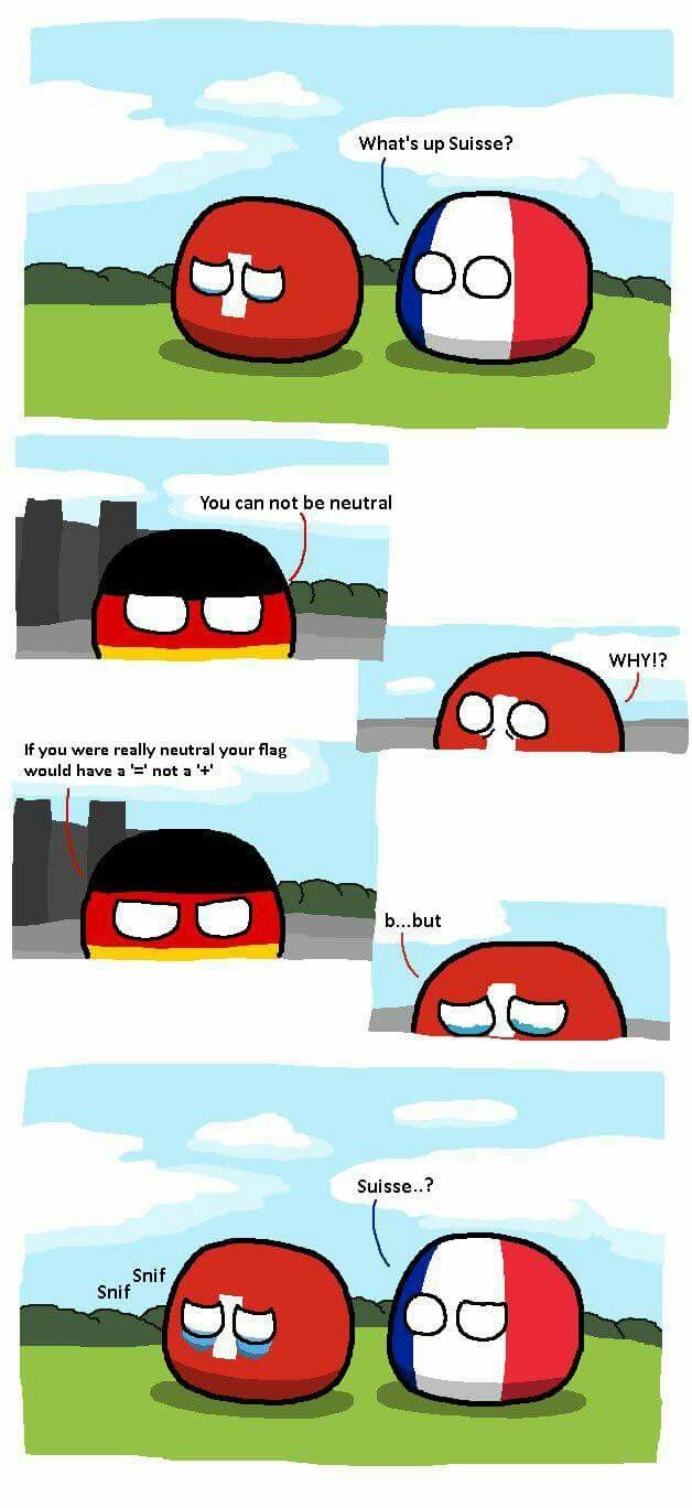 Swiss Cannot Into Neutral Germany Switzerland France Country Jokes Country Memes Country Humor
