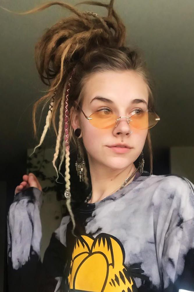 Dreadlocks Today: 45 Hairstyles For Creative Ones| LoveHairStyles