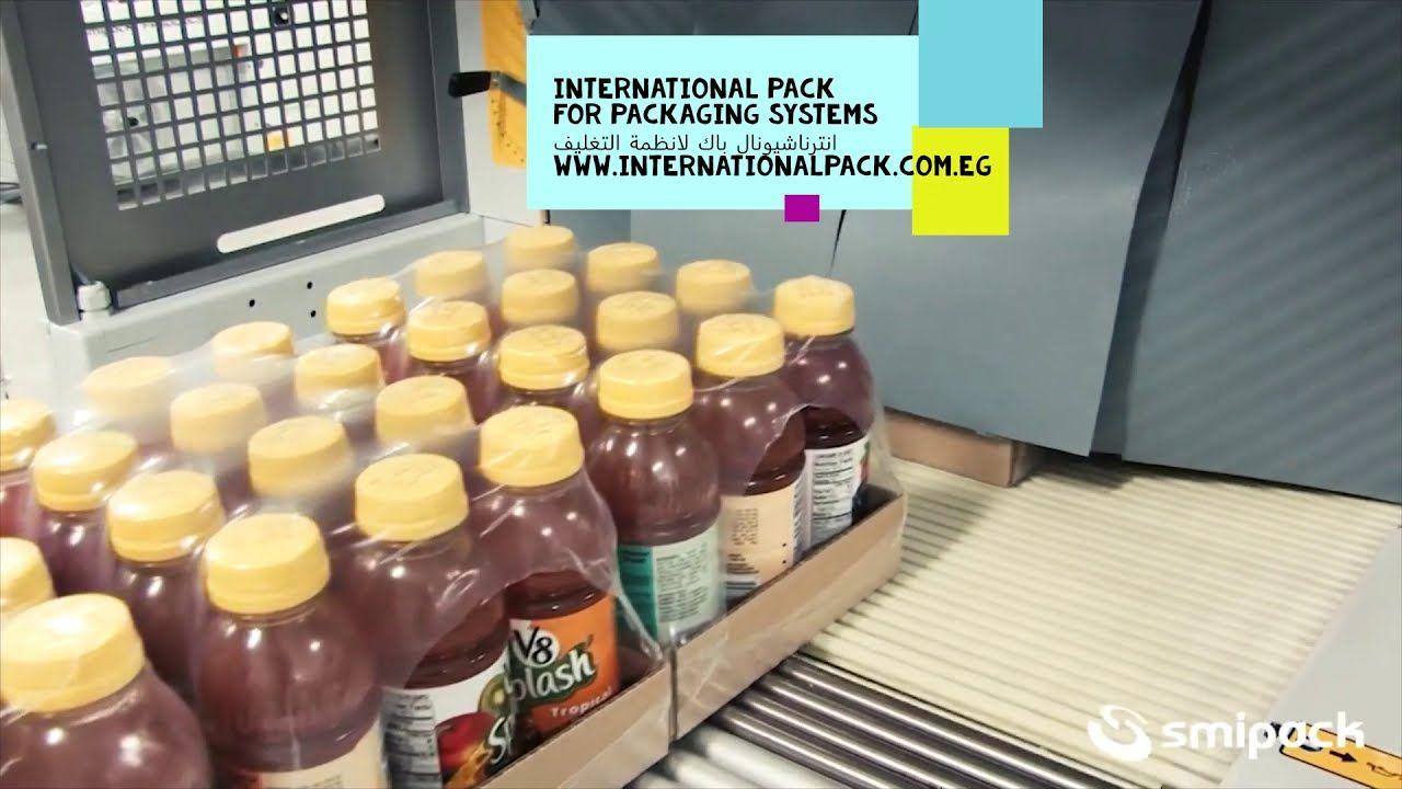 ماكينة التغليف الحديثة لمصانع العصير والمياه الغازية لتغليف عبوات العصير Plashes Packaging