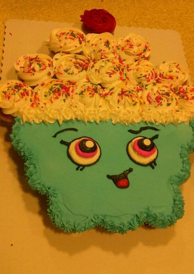 Shopkins PullApart Cupcake Cake CAKE Pinterest Pull apart