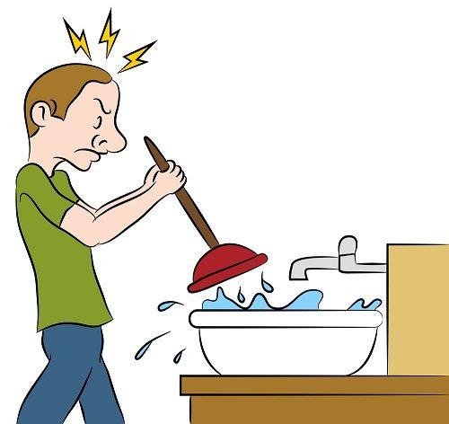 Kitchen Sink Jokes: How To Fix A Slow Draining Sink In Under 10 Minutes