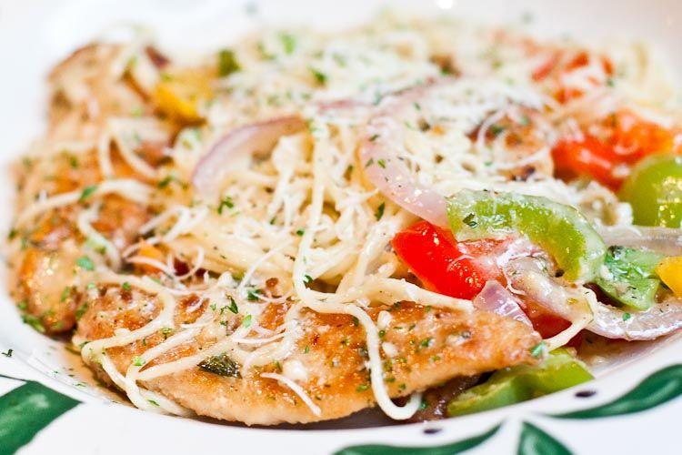 Olive Garden Chicken Scampi Recipe Secret Restaurant Recipes Food And Drink Chicken Scampi
