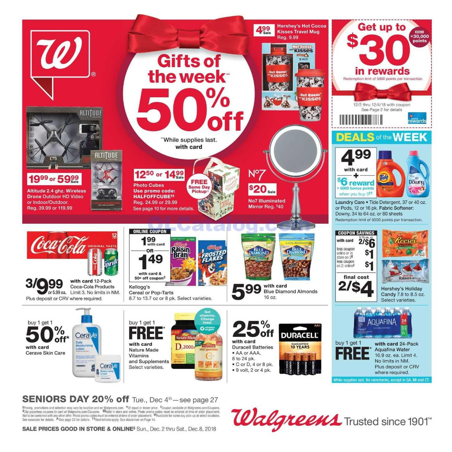 Walgreens Weekly Ad December 2 8, 2018. View the Latest