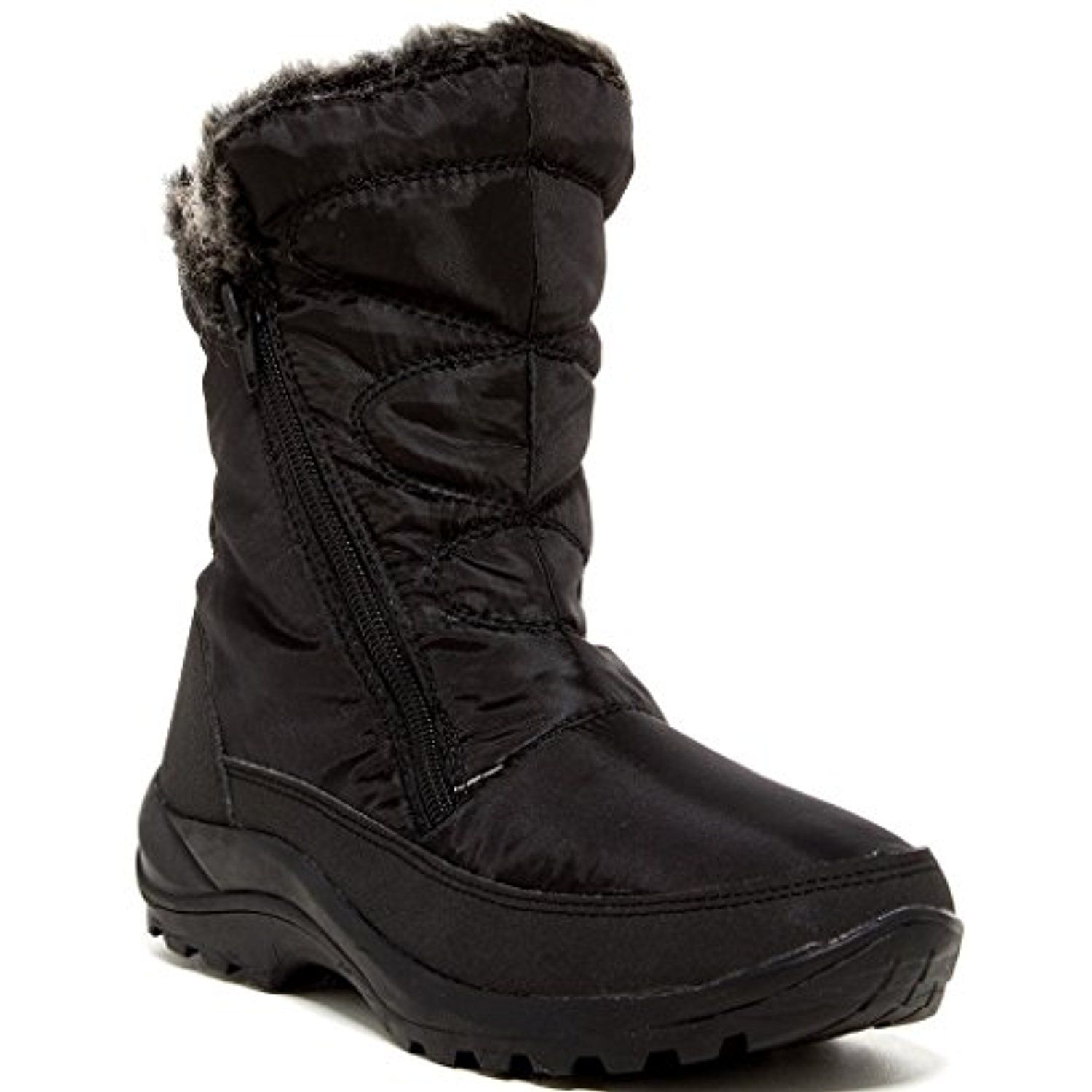 Amarylis Womens Fashion Faux Fur-Lined Boots