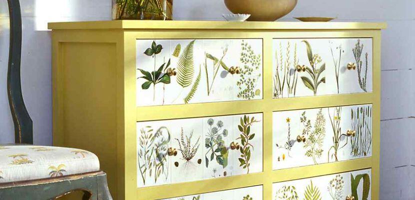 Cómo decorar muebles con decoupage   Decoupage, De ti y Hogar