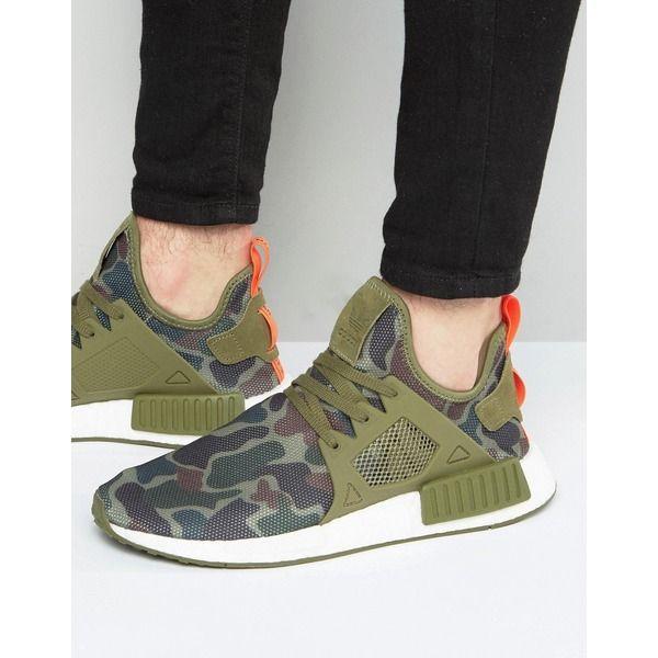 asos schuhe herren sneaker grün adidas