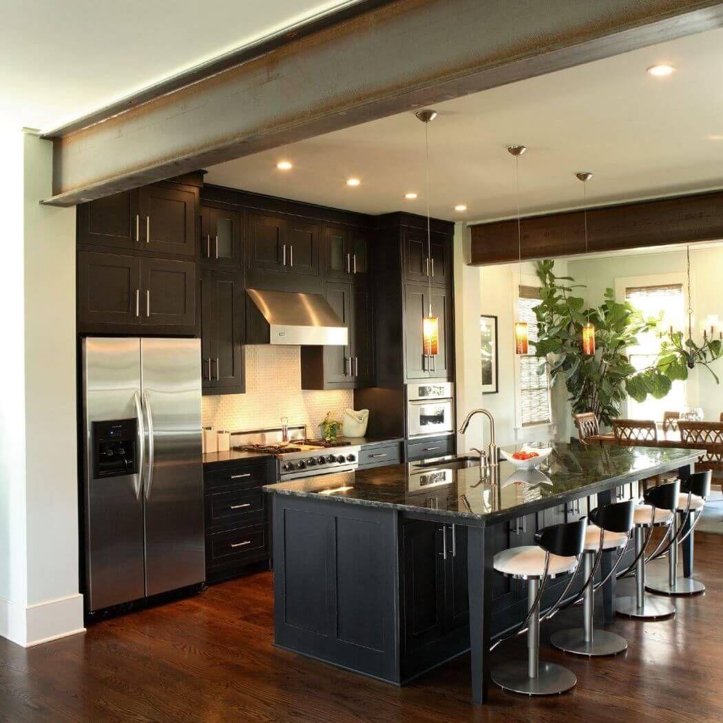 Comment Renover Son Appartement Comme Un Loft De Facon Economique Cuisines Design Cuisine Contemporaine Renovation Cuisine