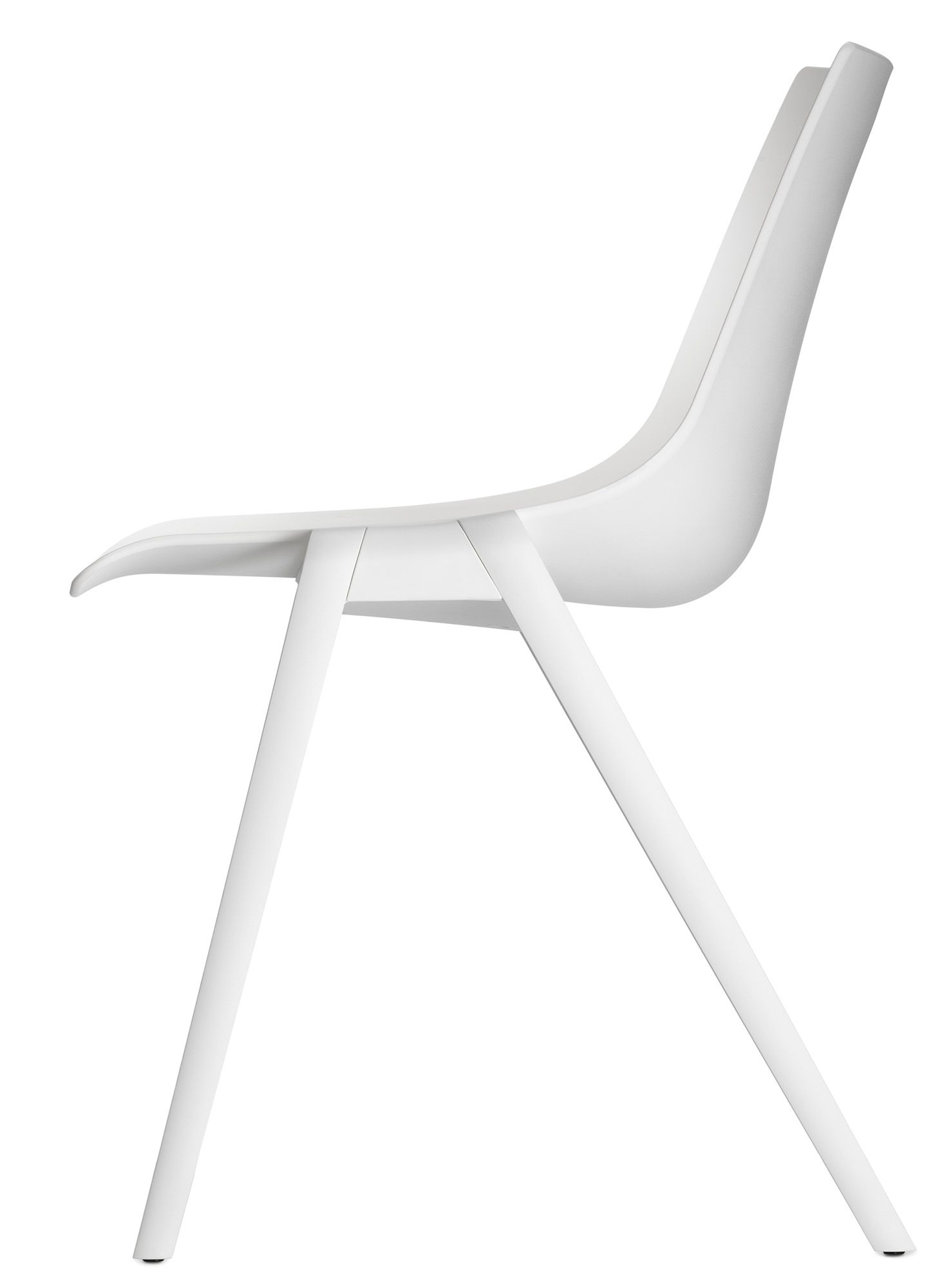 White Stackable Chairs Aula Stackable Chair Meeting And Side Chair By Wilkhahn