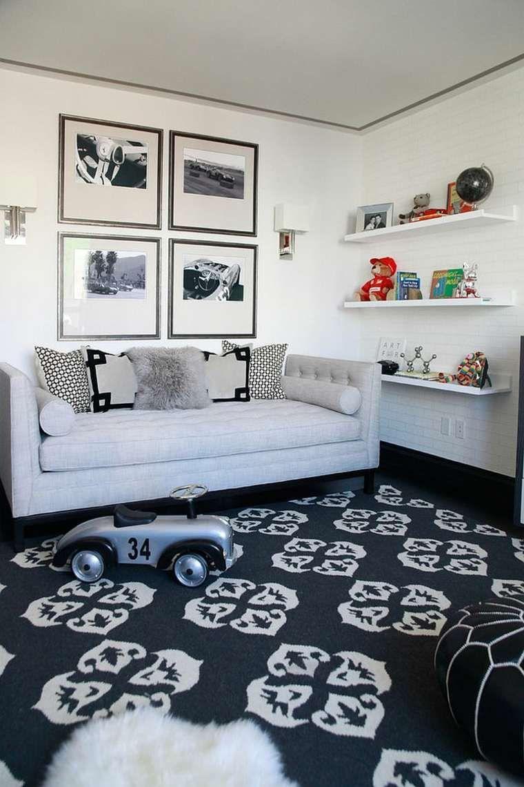 Salle de jeux et chambre d\'amis : deux en un | chambre | Pinterest ...