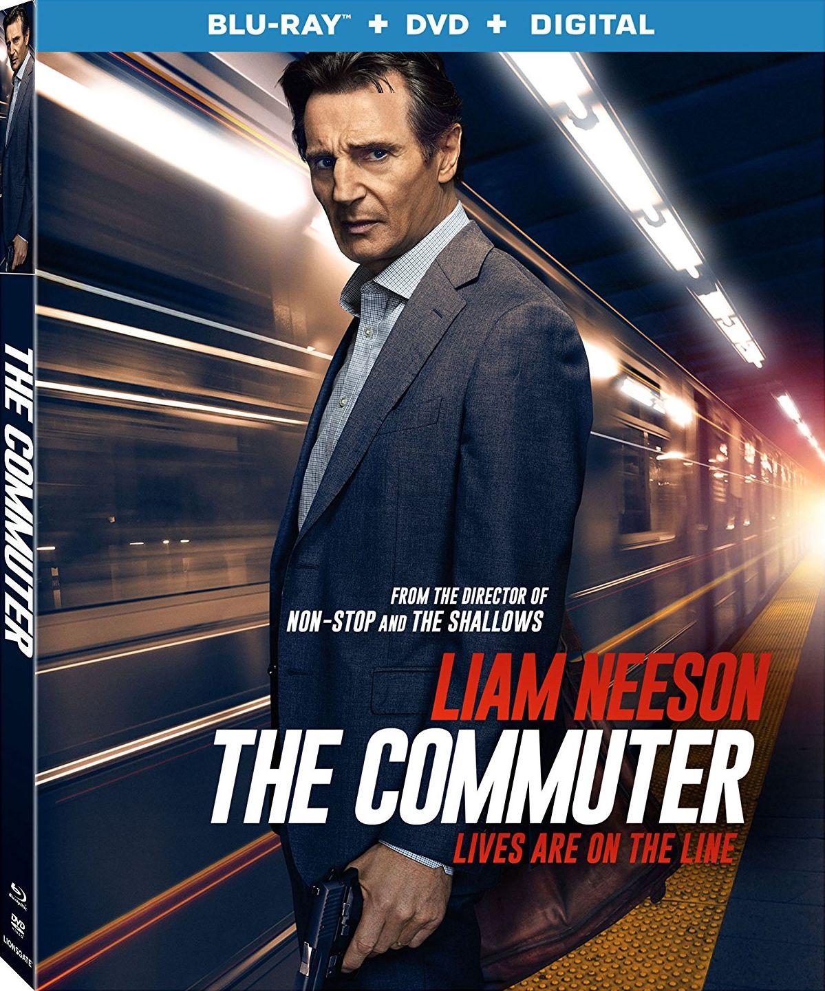 The Commuter Blu Ray Lionsgate Blu Ray Liam Neeson Blu