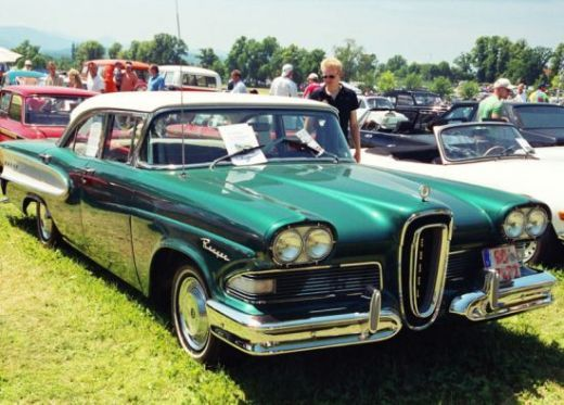 The Edsel. I know....but I still like the way it looks.